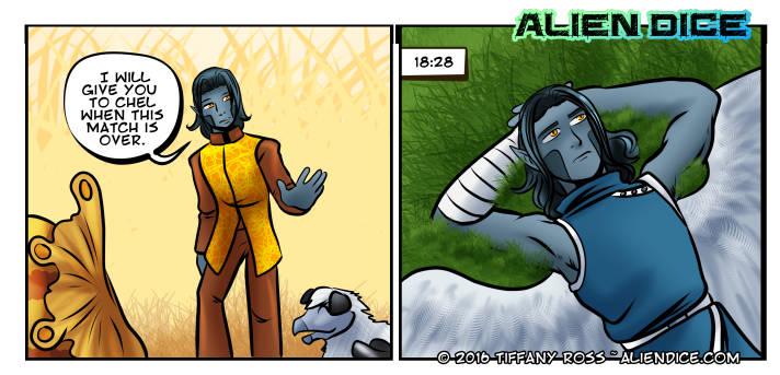 Alien Dice Day 28 07 12