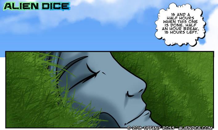 Alien Dice Day 28 07 13