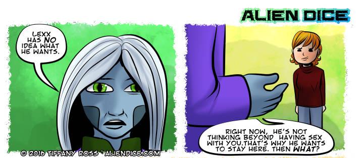Alien Dice Day 29 01 09