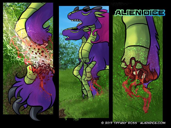 Alien Dice Day 29 05 11