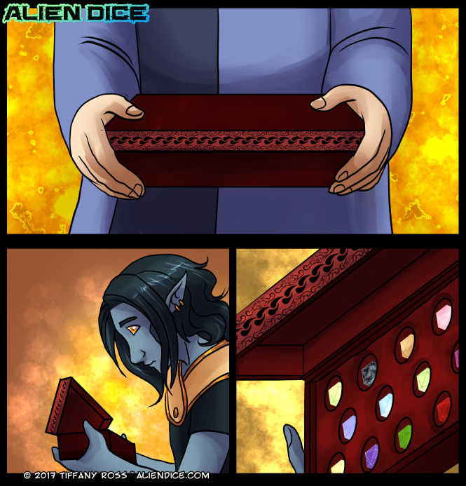 Alien Dice Day 29 06 09