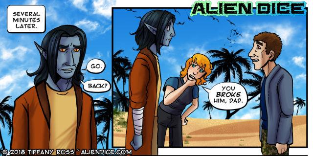 Alien Dice Day 29 08 09